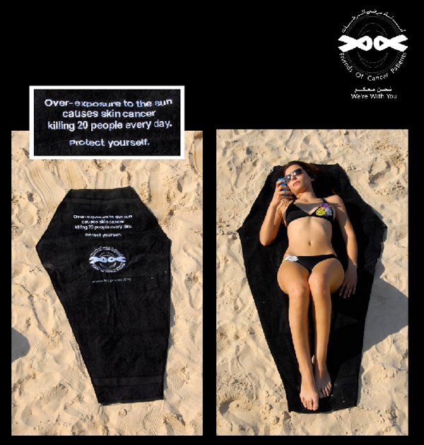 Skin Cancer Towel